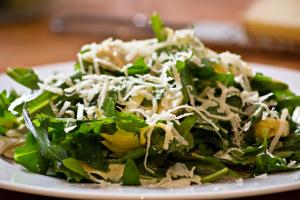 Artischocken-Rucola-Salat