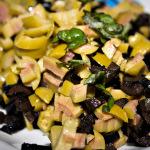 Oliven kleingehackt