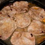 Kalbsschnitzel köcheln in Marsala