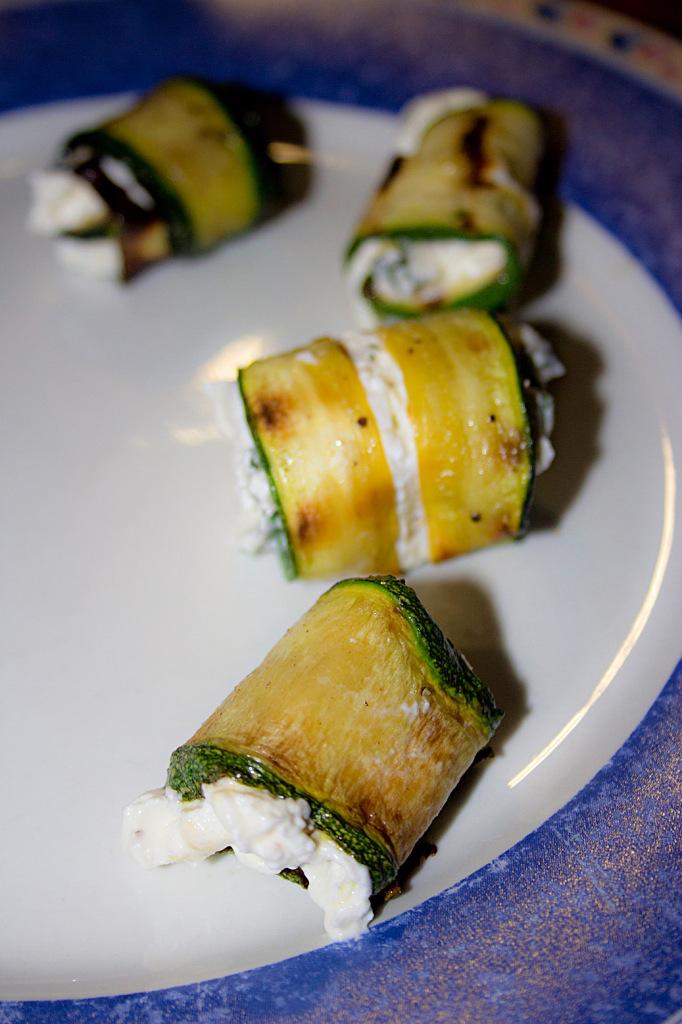 Zucchiniroellchen
