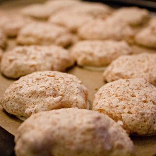 Weihnachtsbäckerei: Kokosmakronen