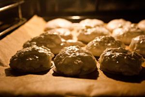 Kurz in den Ofen, schon fertig: Kokosmakronen