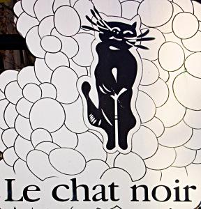 Hier kann man Wein genießen: Das Le chat noir