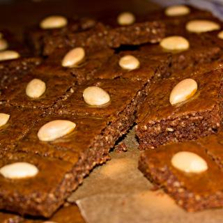 Weihnachtsbäckerei: Winterliche Mandelwürfel