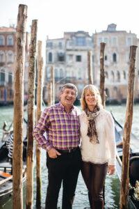 Kochbuch-Autoren Giancarlo und Katie Caldesi (Foto: Helen Cathcart/Knesebeck Verlag)