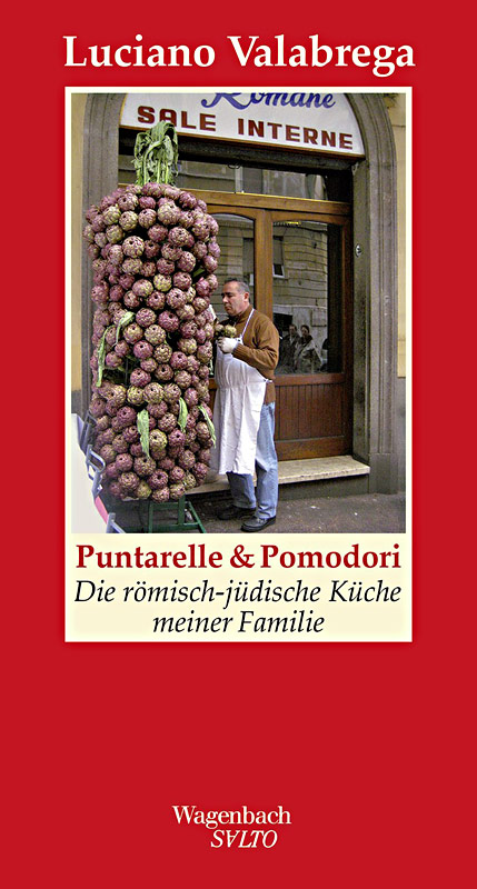 "Buchcover ""Puntarelle & Pomodori"", Wagenbach Verlag"