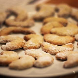 Weihnachtsbäckerei: Vanillekipferl