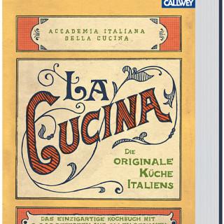 """Abbildung des Kochbuchs """"La Cucina"""""""