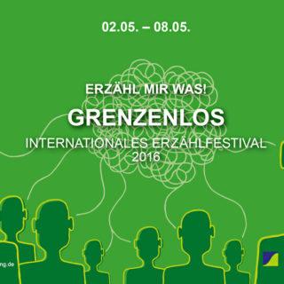 Das Plakat des Erzählfestivals 2016 in Remscheid