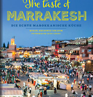 "Abbildung des Kochbuchs ""The Taste Of Marrakesh"""