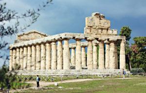 Ceres-Tempel in Paestum: eine sehr gut erhaltene Ruine