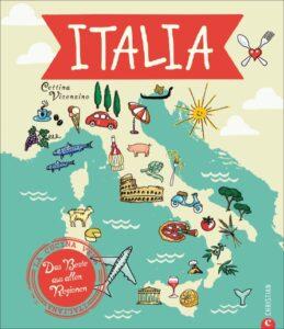 """Abbildung des Buchcovers von """"Italia - Das Beste aus allen Regionen"""""""