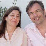 Ein gemeinsames Portraitfoto der Kochbuchautoren Daniela und Felix Partenzi