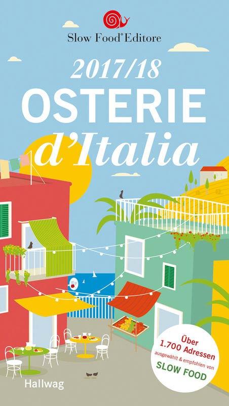 "Das Cover des Restaurant-Guides ""Osterie d'Italia""."