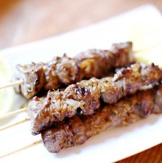 Spanische Tapas: Maurische Fleischspieße