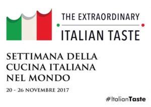 Logo der Seconda Settimana della Cucina Italiana nel Mondo