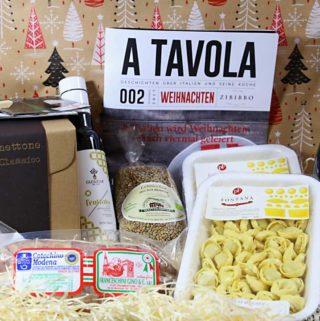 Weihnachten in Italien: das traditionelle Weihnachtsessen. Zibibbo Food-Box & Verlosung
