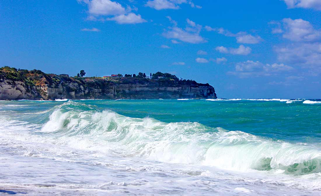 Wellengang an der Götterküste