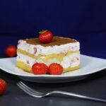 Sommerliches Erdbeer-Tiramisu
