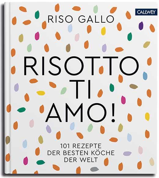 """Abbildung des Buchcovers von """"Risotto, ti amo!"""""""