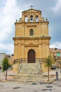 Die nur wenig geschmückte Basilica San Sebastiano in Ferla.