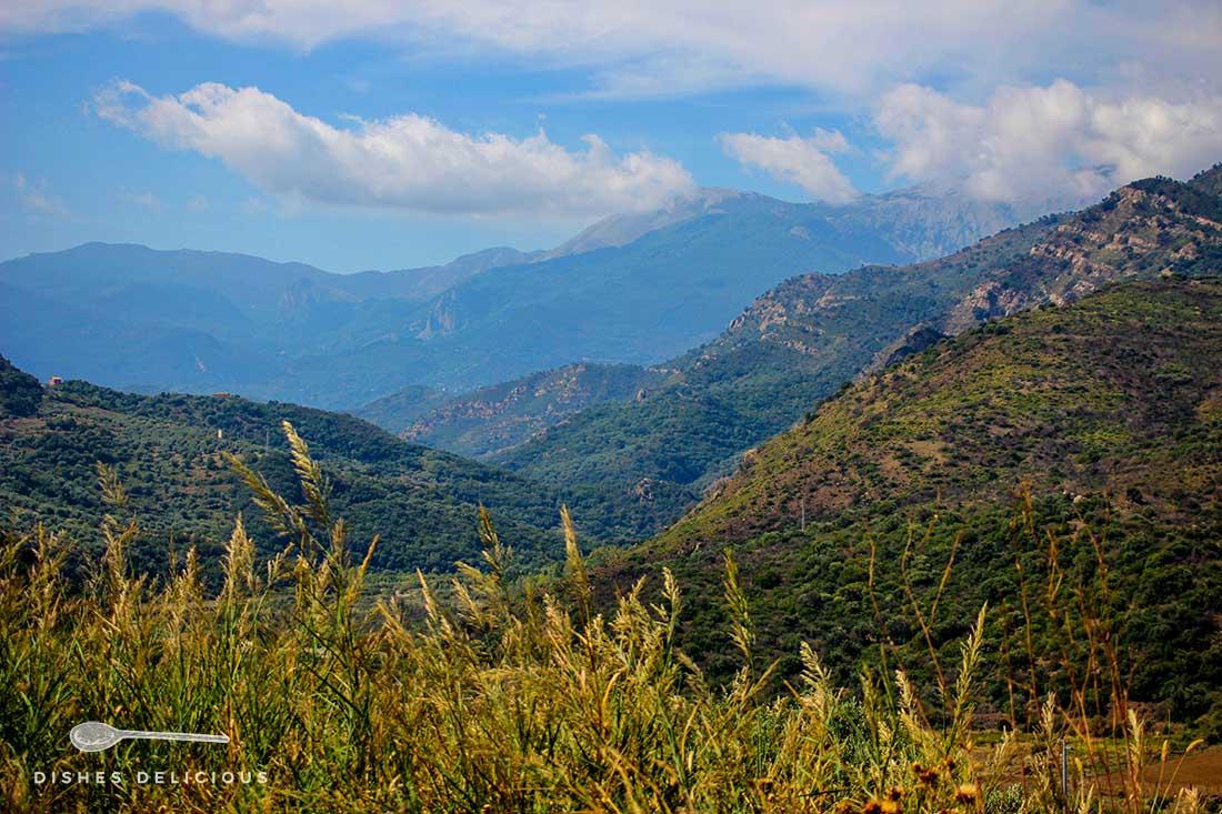 Berglandschaft der Madonie