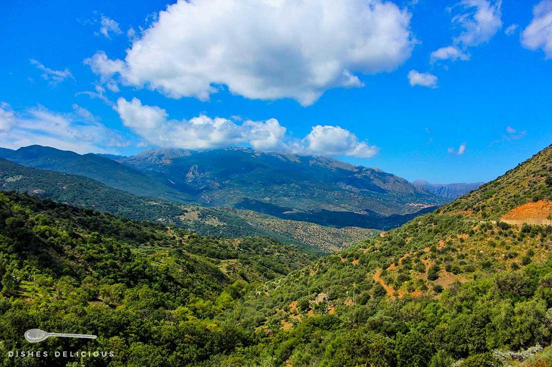 Berge der Madonie im sizilianischen Hinterland.
