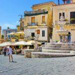 Sizilien: Taormina und das Bergdorf Castelmola