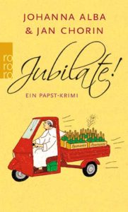 """Coverabbildung von """"Jubilate! Ein Papst-Krimi"""""""