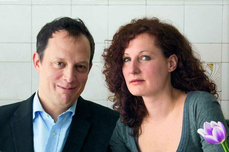 Das Autoren-Duo Jan Chorin und Johanna Alba