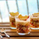 Leichtes Pfirsich-Tiramisu für den Sommer