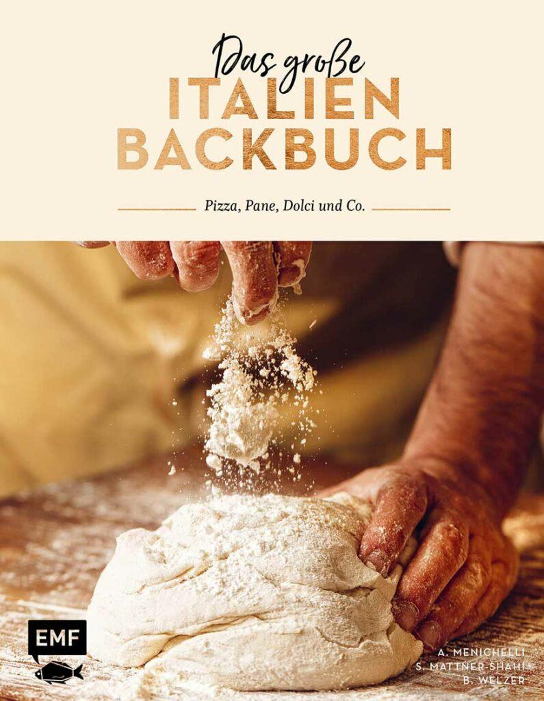 """Buchabbildung """"Das große Italien Backbuch"""""""