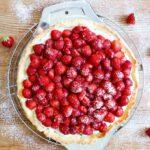 Crostata mit Erdbeeren und Mascarponecreme