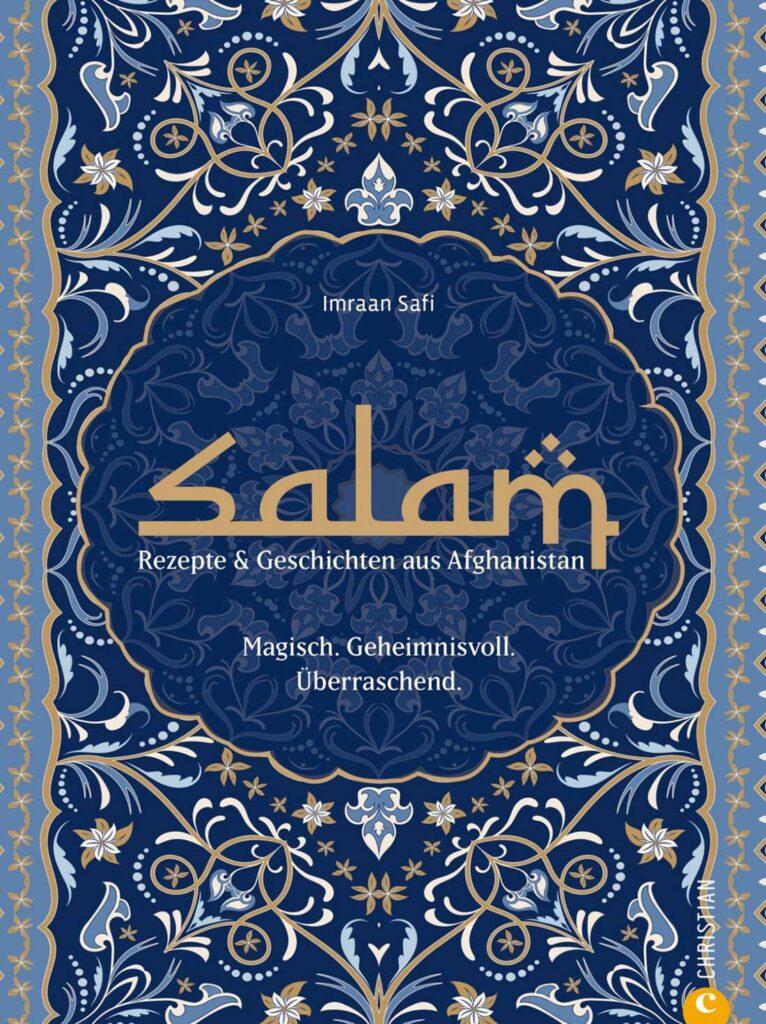 "Abbildung des Buchcovers vom Kochbuch ""Salam"""